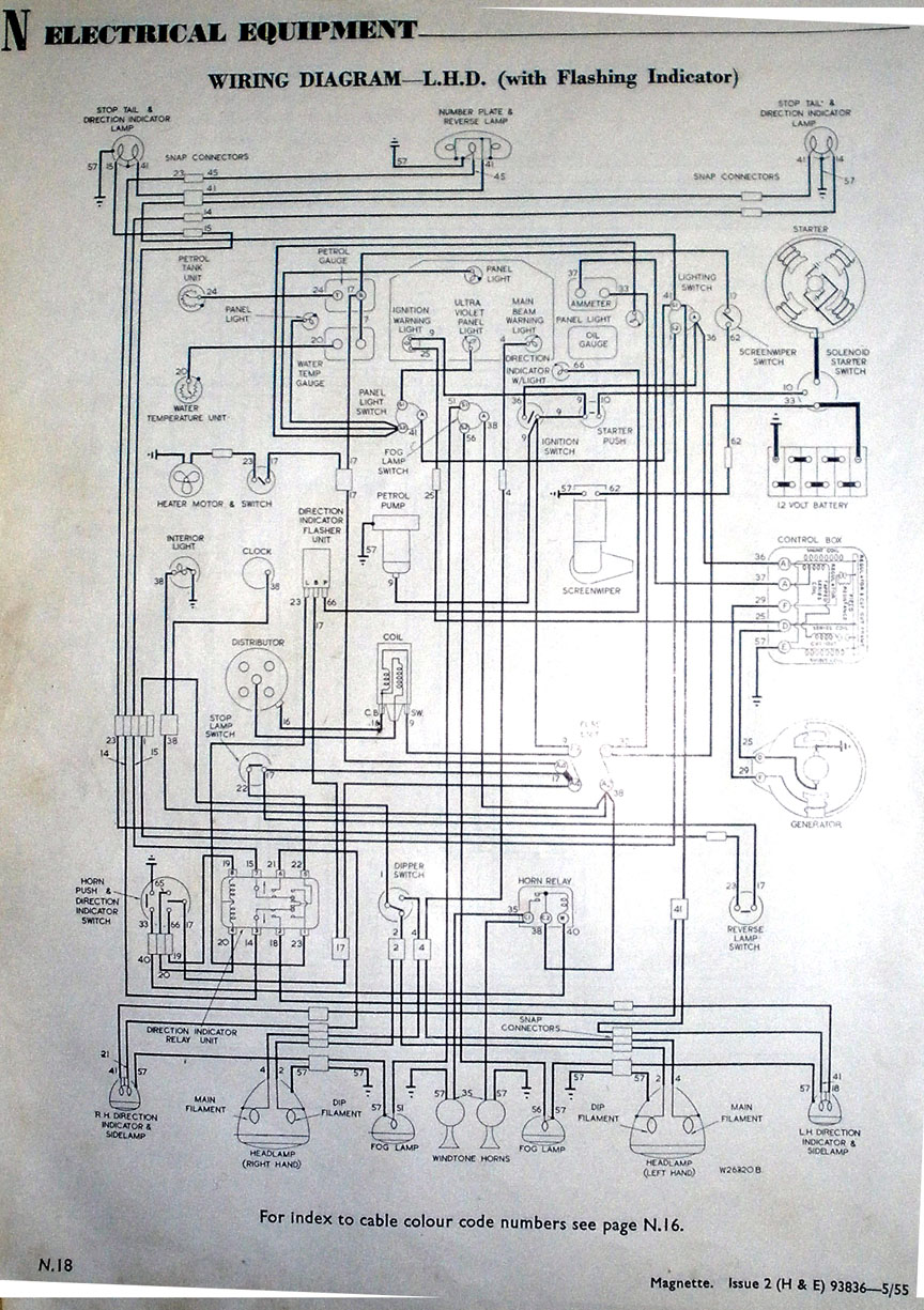 Mgb Overdrive Wiring Schematic Library Diagram For A System Wiper Motor Mg Magnette Forum Experience