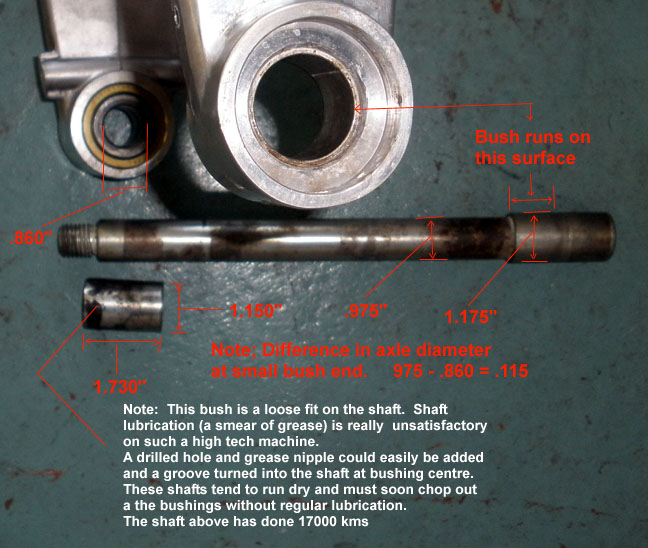 SwingArm & Front Brake lines-Fitting? - 1130cc com: The #1